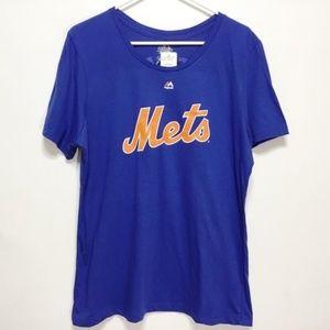 Mets Noah Syndergaard Cotton Short Sleeve Shirt